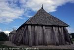 Viking longhouse, Frykat, Denmark