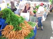 Farmer's market, downtown