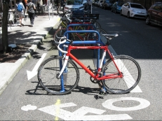 Love these bike racks