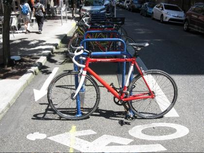Love these bike racks