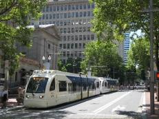 The MAX light rail
