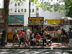 Food carts downtown