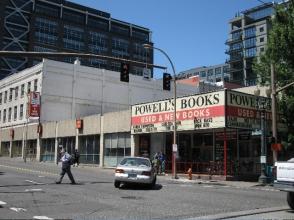 Powell's Books, world famous