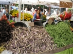 Pole beans are not cheap ($4/pound) at the Ballard Farmers Market).