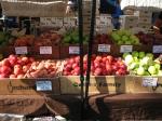 Seasonal fruit is more expensive at the Ballard Farmers Market than McPherson's, but it's organic.