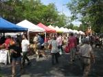 Typical snapshot of Ballard Farmer's Market, and its demographic makeup.