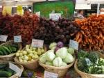 Amazingly yummy looking produce at the Ballard Farmers Market.