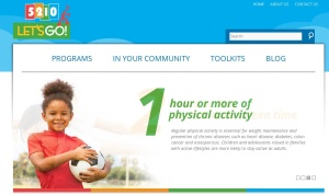 The Let's Go program in Maine is one of many in the United States trying to get kids to exercise for an hour daily.