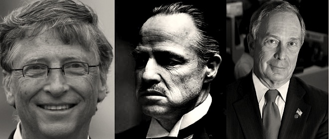 Which Don Corleone do you want to promote public health, Bill Gates or Michael Bloomberg?