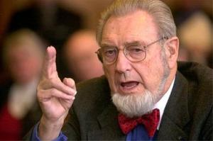 Dr. C. Everett Koop, former U.S. Surgeon General and effective communicator and advocate for public health.