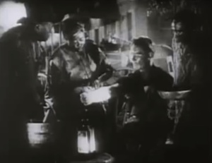 The pro-slavery 1940 film Sante Fel Trail featured escaped slaves as subservient, pro-slavery fools who desired to return to plantation life rather than chase freedom with John Brown.