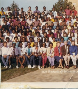 A group shot from my 1983 graduating class; I am not seen in this one.