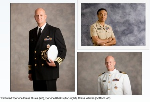 The U.S. Public Health Corps' web site shows the different uniforms worn by their members.