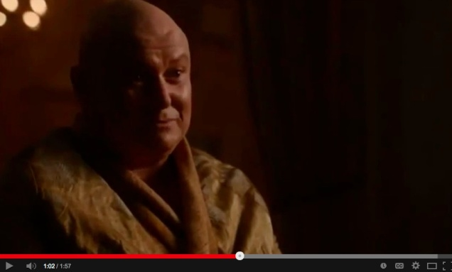 From the Game of Thrones, a lecture on power and illusion, for Westeros and beyond.