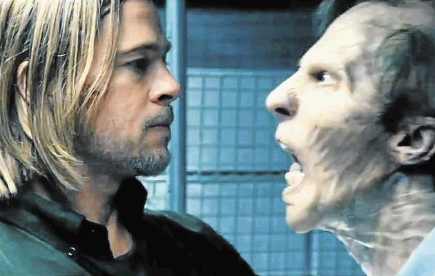 Brad Pitt goes toe-to-toe with the zombies and saves humanity in his public health swashbuckler, World War Z. Way to go, Brad!