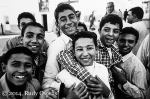 Photo of Coptic Youth, Egypt by Rudy Owens