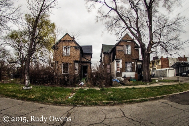 Broken down Detroit Homes (Photos by Rudy Owens)