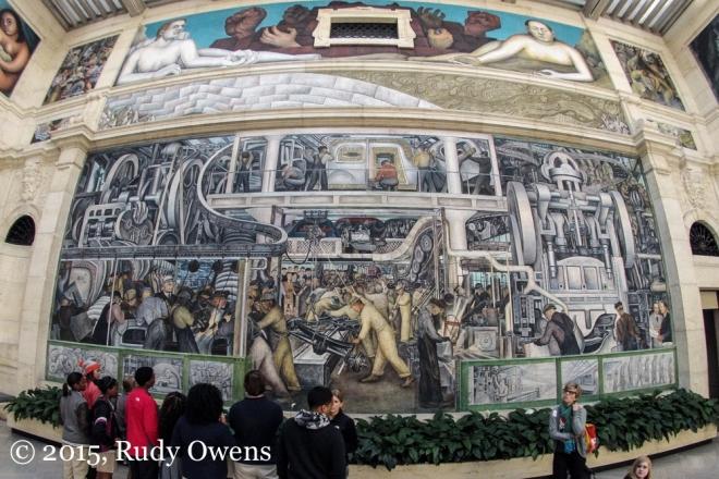 Diego Rivera Mural DIA