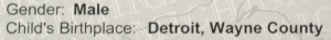 Here's the proof if you need it--Michgian verifies I am a Native Detroiter.