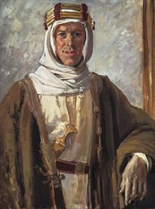Thomas Edward Lawrence, aka Lawrence of Arabia