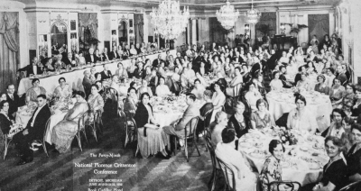 National Florence Critttenton Mission convention, 1932, Detroit.